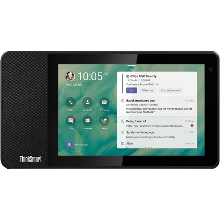 "Lenovo ThinkSmart View ZA840013US Tablet - 8"" HD - 2 GB RAM - 8 GB Storage - Android 8.1 Oreo - Business Black_subImage_9"