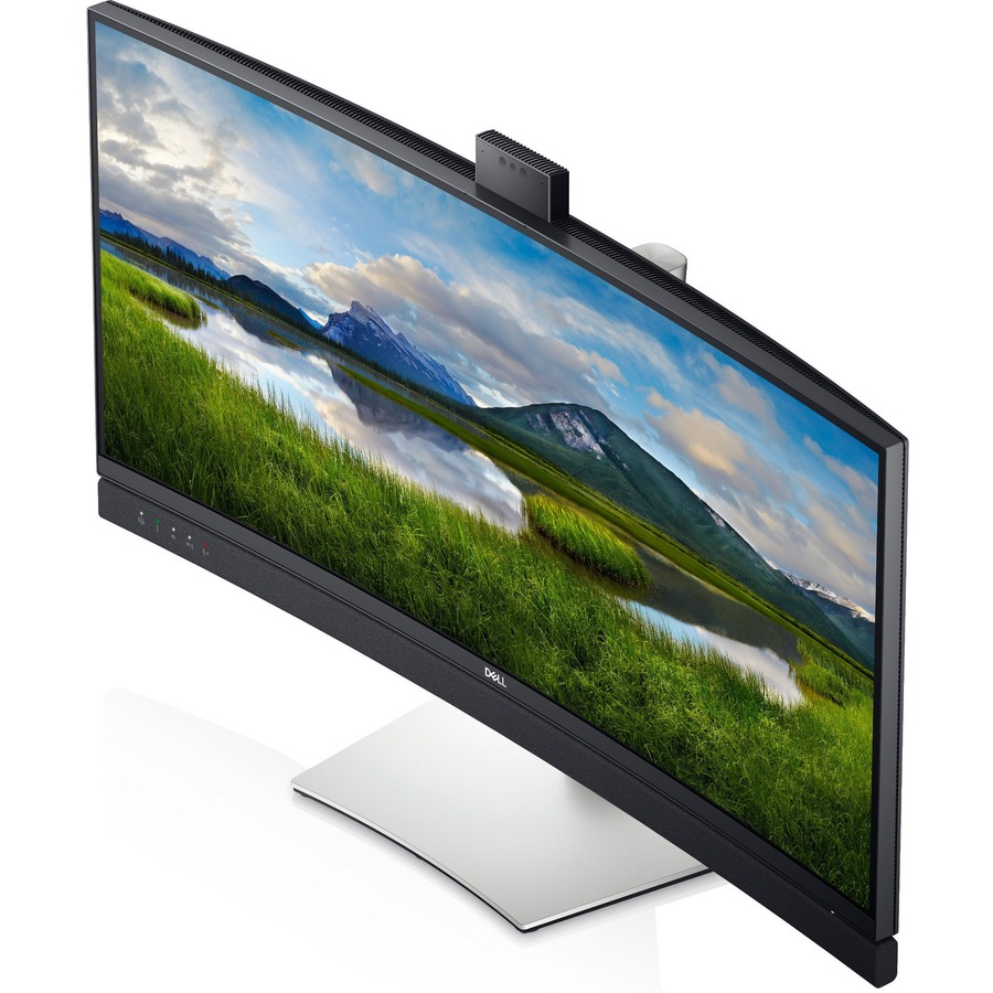 """Dell C3422WE 34.1"""" WQHD Curved Screen Edge WLED LCD Monitor - 21:9 - Platinum Silver_subImage_11"""