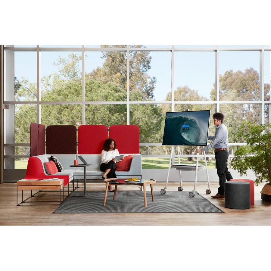 "Microsoft Surface Hub 2S All-in-One Computer - Intel Core i5 8th Gen - 8 GB RAM - 128 GB SSD - 50"" 3840 x 2560 Touchscreen Display - Desktop - Platinum_subImage_39"