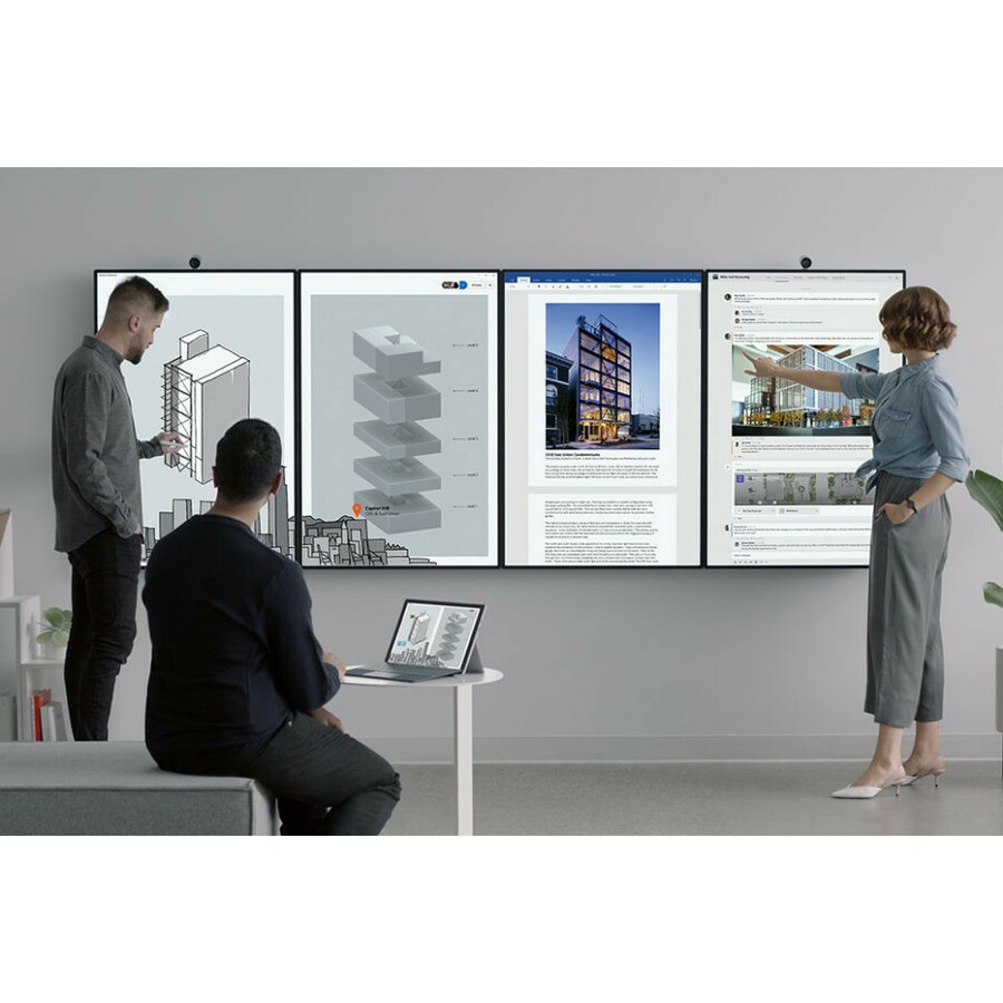 "Microsoft Surface Hub 2S All-in-One Computer - Intel Core i5 8th Gen - 8 GB RAM - 128 GB SSD - 50"" 3840 x 2560 Touchscreen Display - Desktop - Platinum_subImage_43"