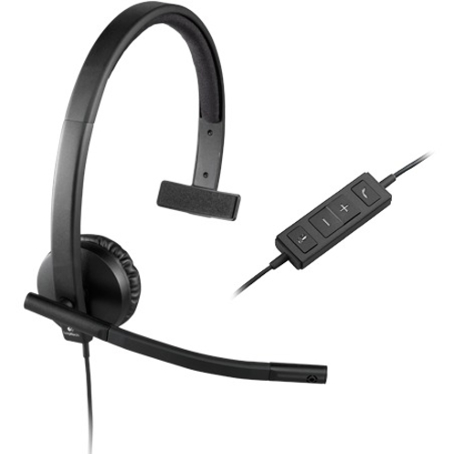 Logitech USB Headset Mono H570e_subImage_5