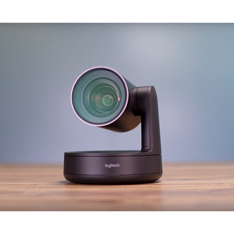 Logitech Video Conferencing Camera - 13 Megapixel - 60 fps - Matte Black, Slate Gray - USB 3.0_subImage_5