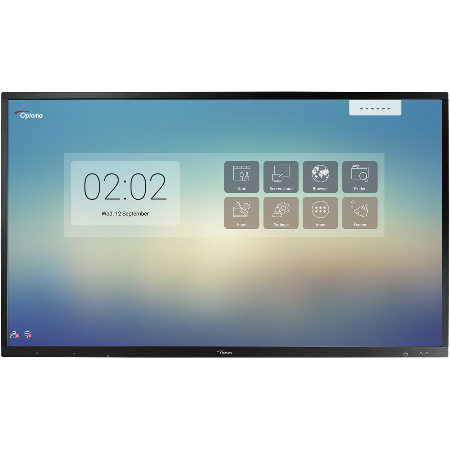 """Optoma Creative Touch OP751RK All-in-One Computer - ARM Cortex A73 - 2 GB RAM - 16 GB Flash Memory Capacity - 75"""" 3840 x 2160 Touchscreen Display - Desktop_subImage_12"""