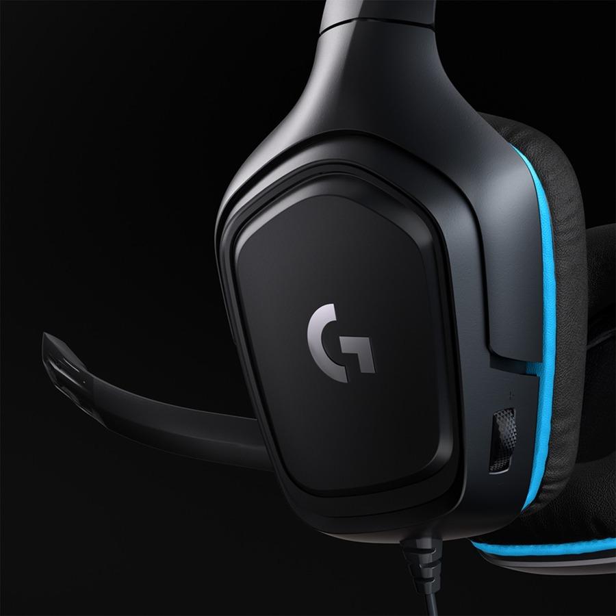 Logitech G432 7.1 Surround Sound Gaming Headset_subImage_7