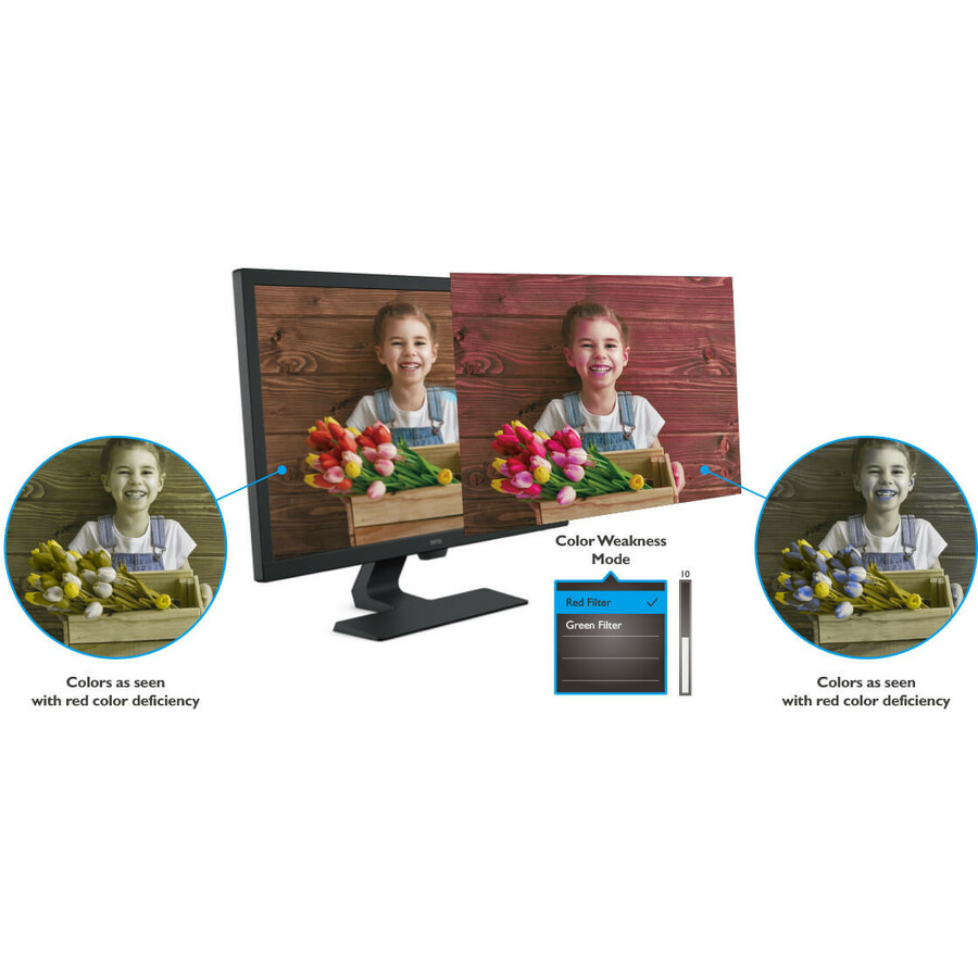 "BenQ GL2480 23.8"" Full HD WLED LCD Monitor - 16:9 - Black_subImage_11"