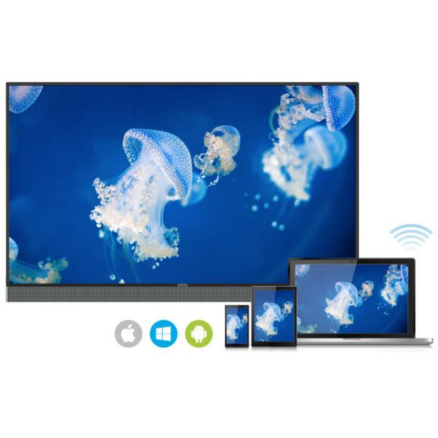 "BenQ RM5502K 55"" LCD Touchscreen Monitor - 16:9 - 8 ms_subImage_11"