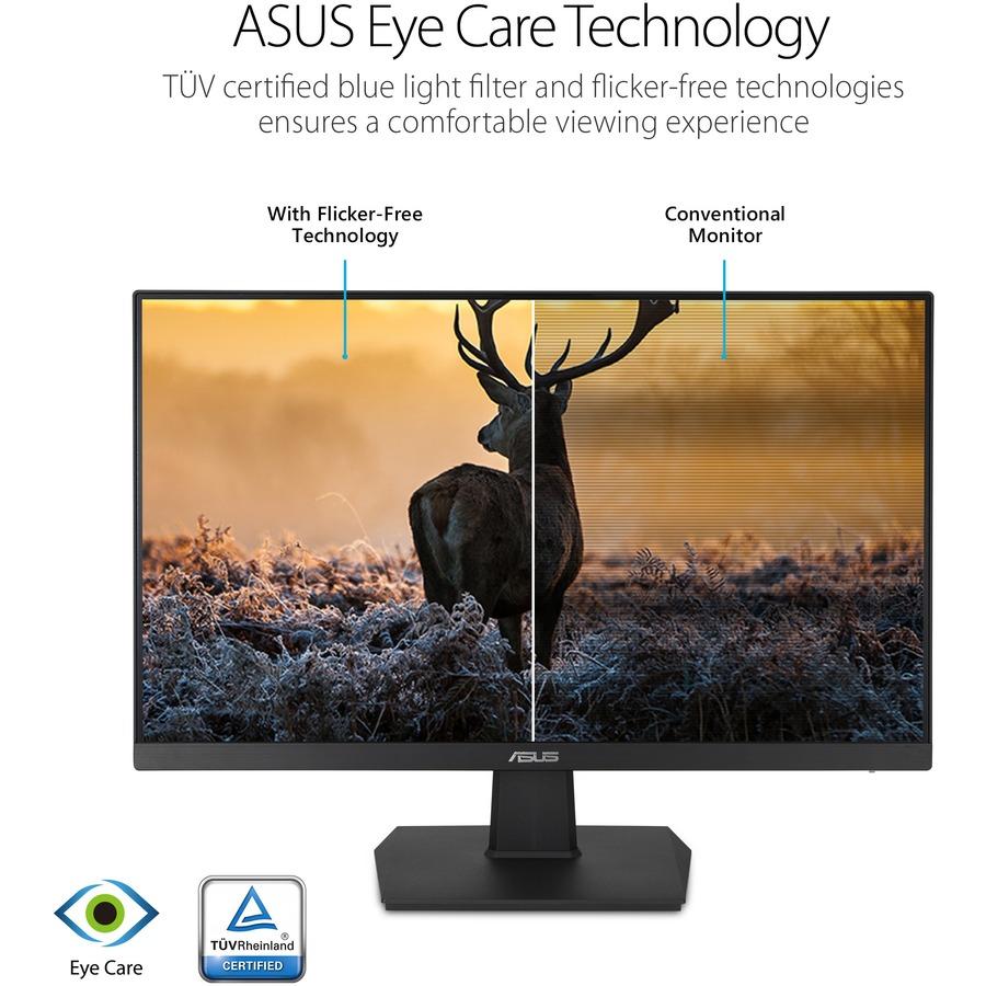 "Asus VA24EHE 23.8"" Full HD WLED Gaming LCD Monitor - 16:9 - Black_subImage_8"