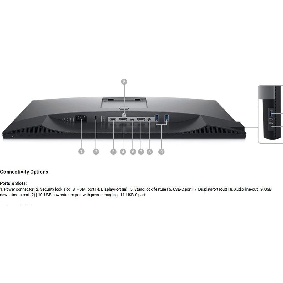 "Dell UltraSharp U2520D 25"" WQHD Edge WLED LCD Monitor - 16:9_subImage_10"