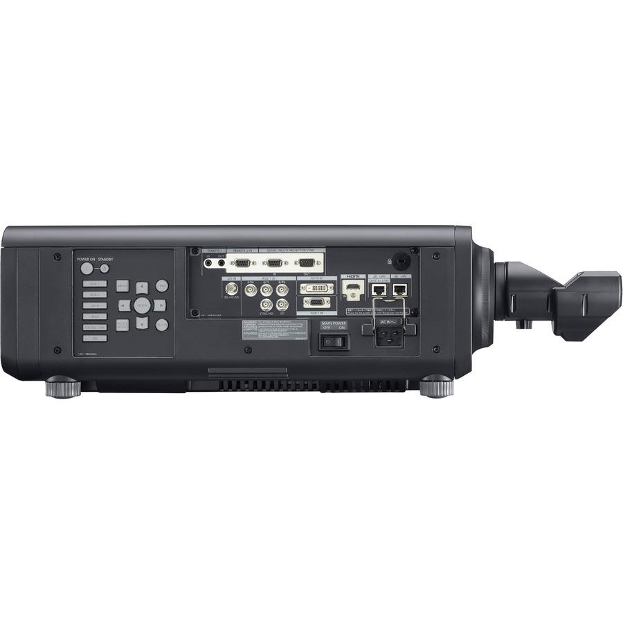 Panasonic SOLID SHINE PT-RZ120 DLP Projector - 16:10 - Black_subImage_9