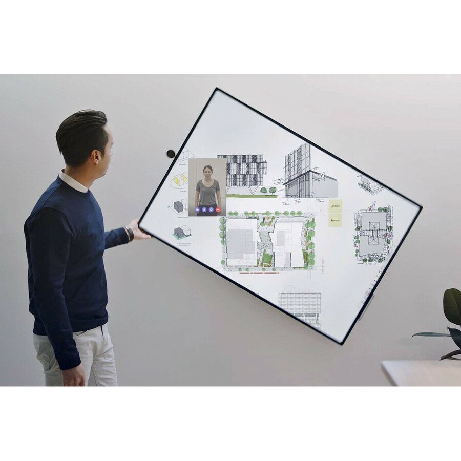 "Microsoft Surface Hub 2S All-in-One Computer - Intel Core i5 8th Gen - 8 GB RAM - 128 GB SSD - 50"" 3840 x 2560 Touchscreen Display - Desktop - Platinum_subImage_45"