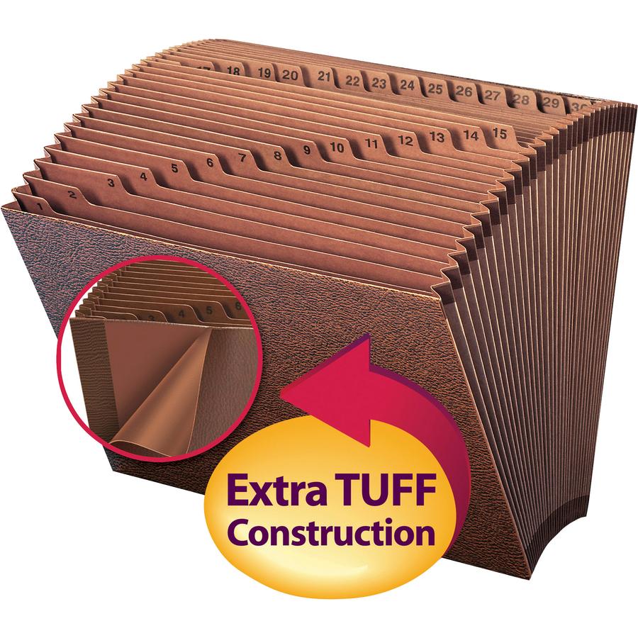 31 slot accordion file