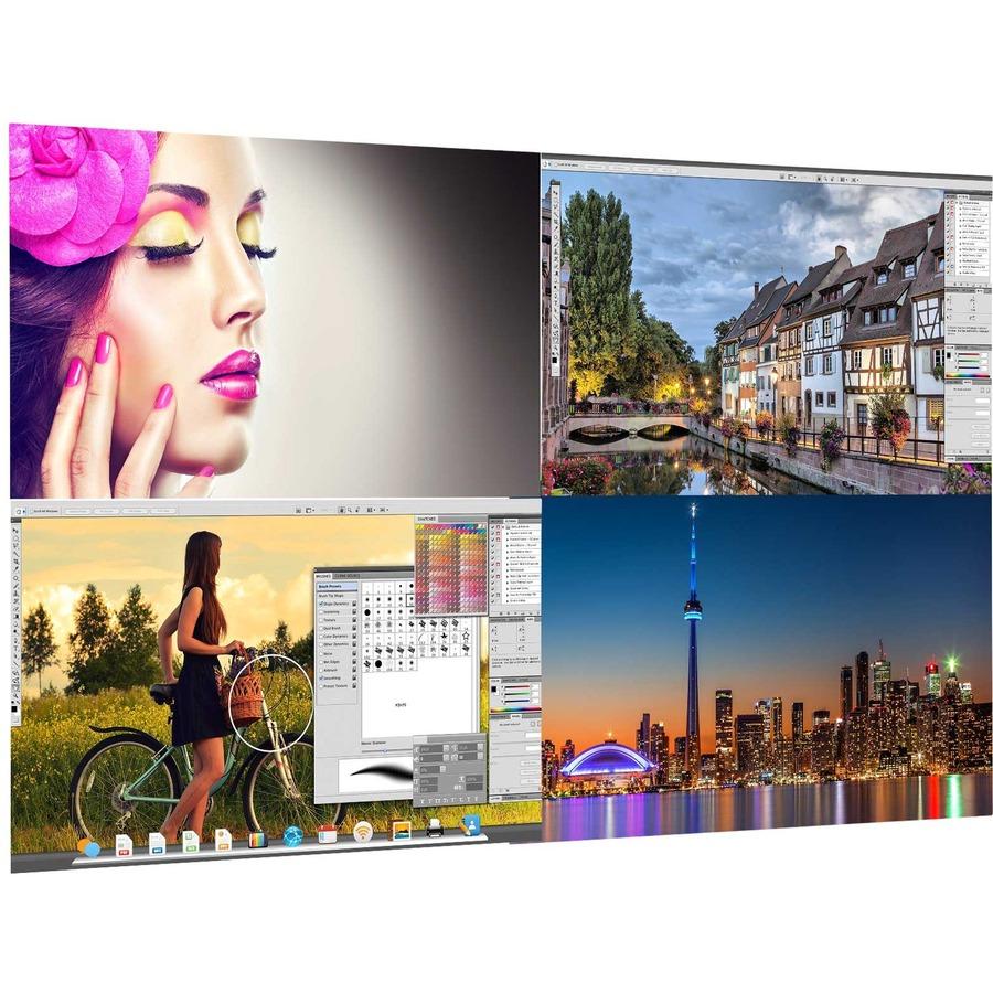 Viewsonic VX4380-4K 4K UHD WLED LCD Monitor - 16:9 - Black, Gray_subImage_10
