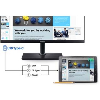"Samsung S24H850QFN 23.8"" WQHD LED LCD Monitor - 16:9 - Black_subImage_12"