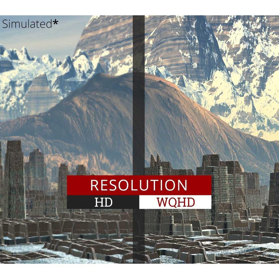 "Viewsonic Ultra Slim VX3276-2K-MHD 32"" WQHD LED LCD Monitor - 16:9 - Silver_subImage_12"