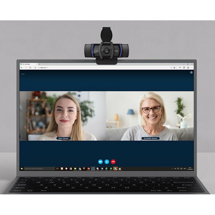 Logitech C920S Webcam - 2.1 Megapixel - 30 fps - USB 3.1_subImage_8