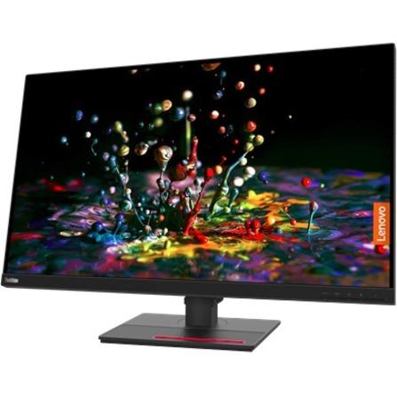 "Lenovo ThinkVision P32P-20 31.5"" 4K UHD WLED LCD Monitor - 16:9 - Raven Black_subImage_11"