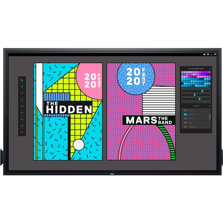 """Dell C8621QT 85.6"""" LCD Touchscreen Monitor - 16:9 - 8 ms GTG_subImage_11"""