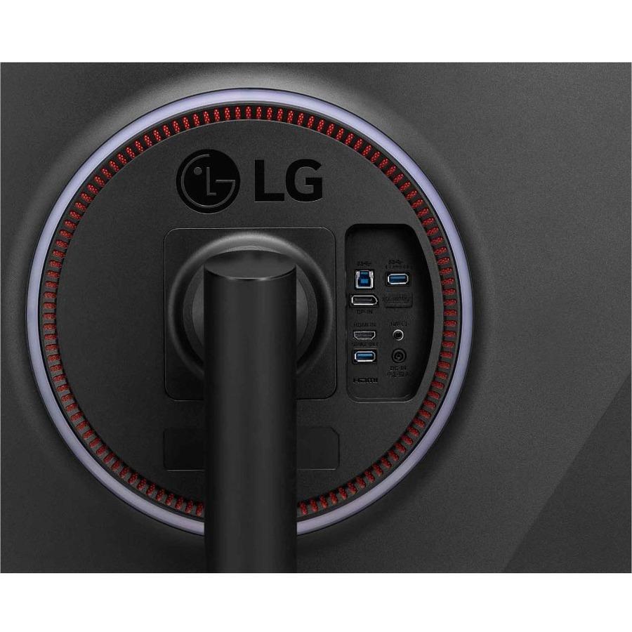 "LG UltraGear 38GN95B-B 37.5"" UW-QHD+ Curved Screen LED Gaming LCD Monitor - 21:9 - Black, White_subImage_10"