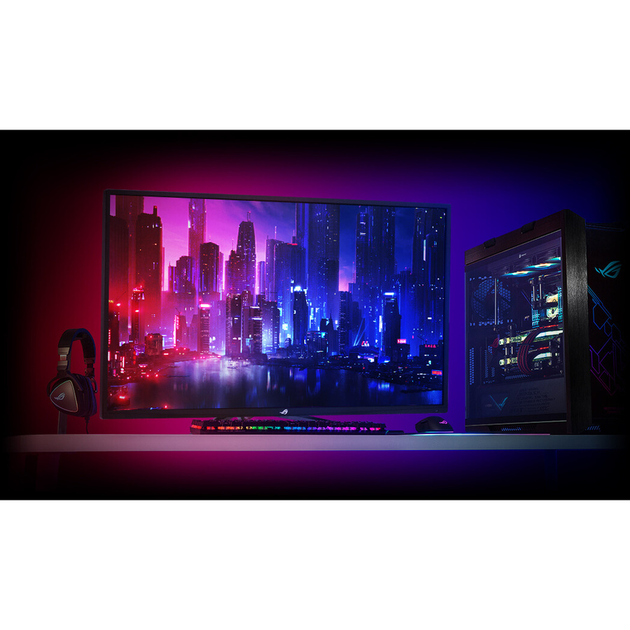 "Asus ROG Strix XG438Q 42.5"" 4K UHD LED Gaming LCD Monitor - 16:9_subImage_12"