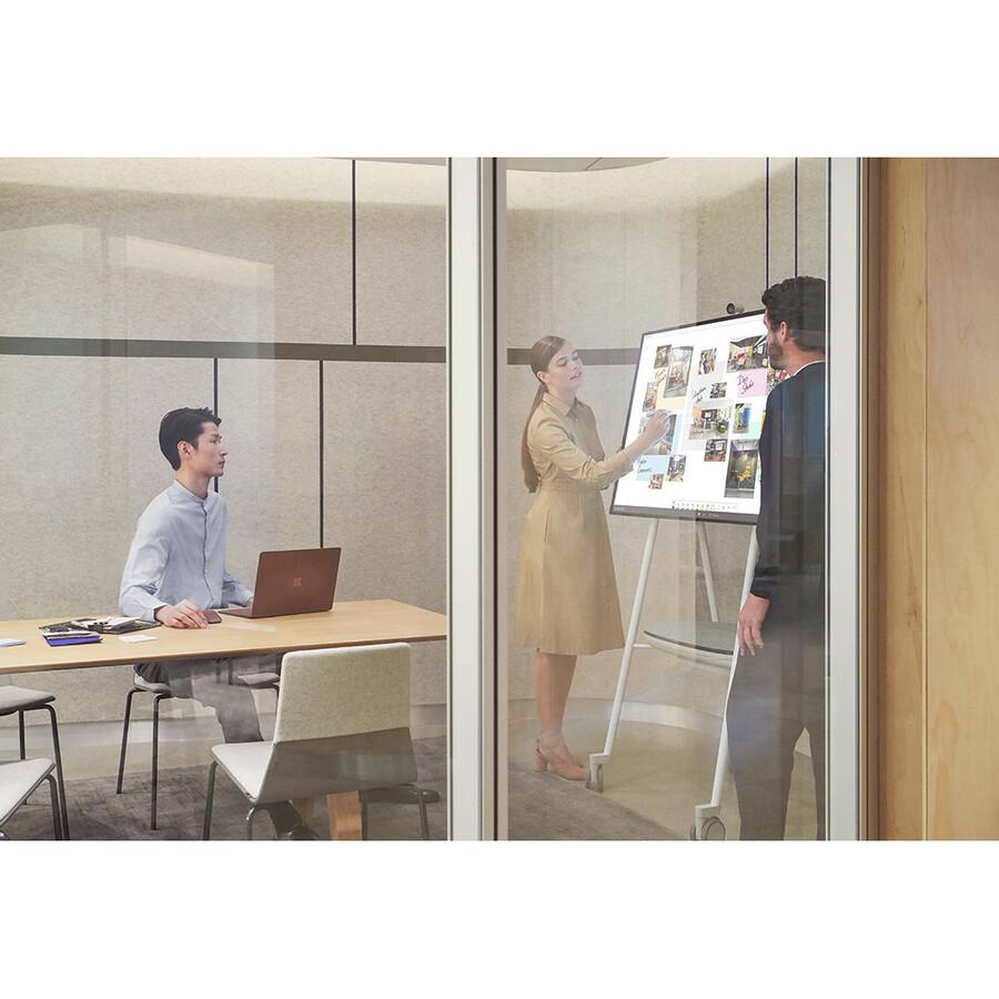 "Microsoft Surface Hub 2S All-in-One Computer - Intel Core i5 8th Gen - 8 GB RAM - 128 GB SSD - 50"" 3840 x 2560 Touchscreen Display - Desktop - Platinum_subImage_11"