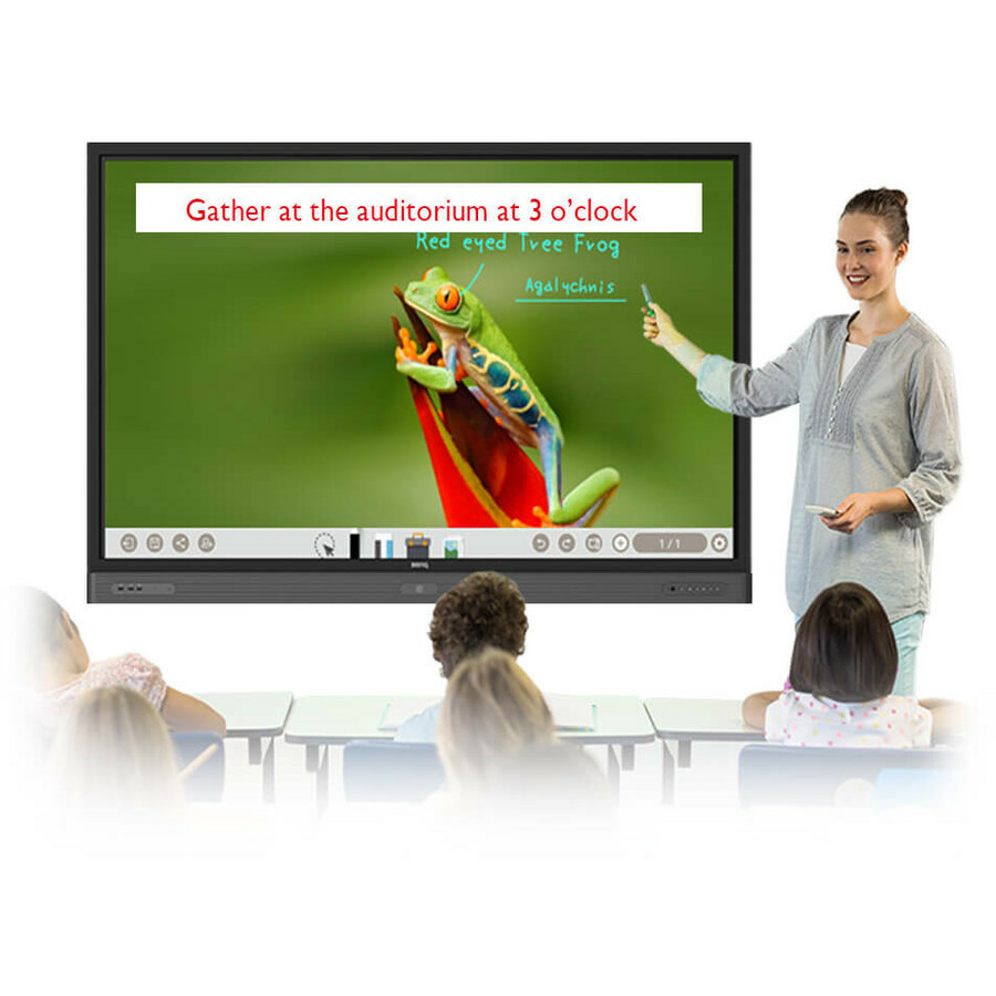 "BenQ RM5502K 55"" LCD Touchscreen Monitor - 16:9 - 8 ms_subImage_13"