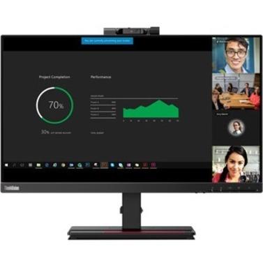"Lenovo ThinkVision T24v-20 23.8"" Full HD WLED LCD Monitor - 16:9 - Raven Black_subImage_11"