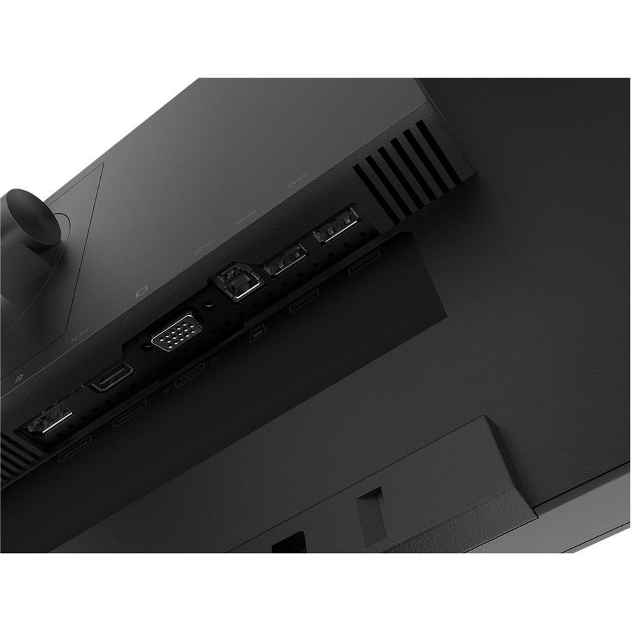 "Lenovo ThinkVision T24i-20 23.8"" Full HD WLED LCD Monitor - 16:9 - Raven Black_subImage_11"