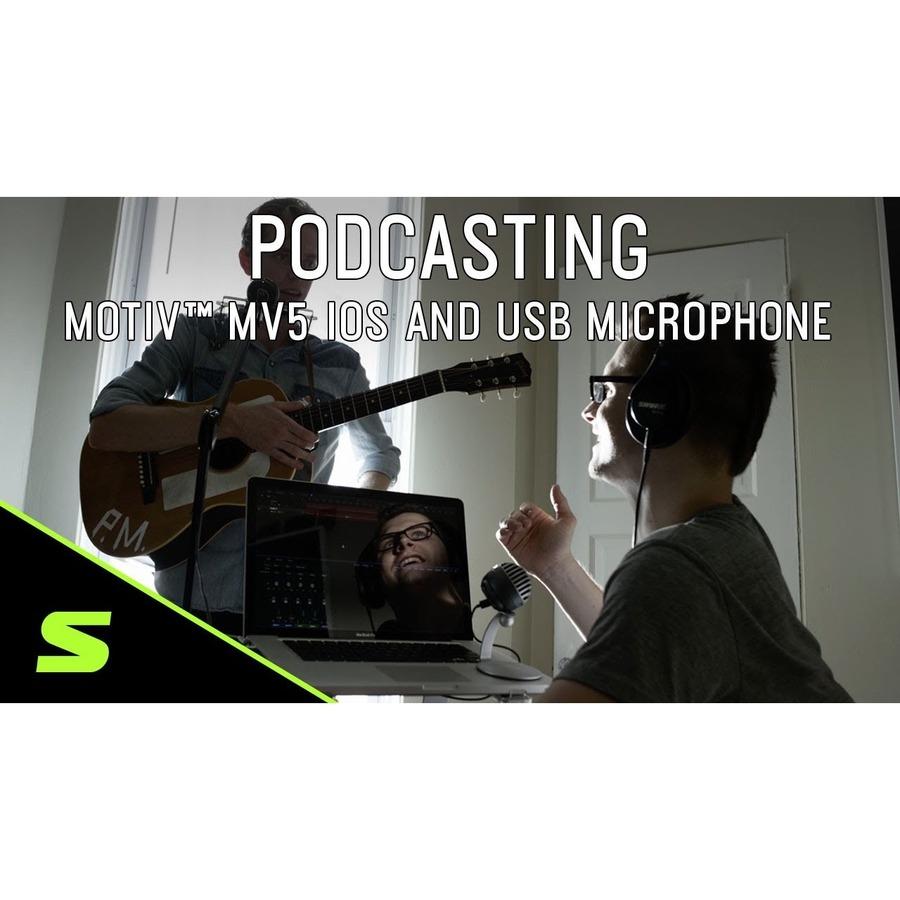 Shure MOTIV MV5-B-DIG Wired Condenser Microphone_subImage_7