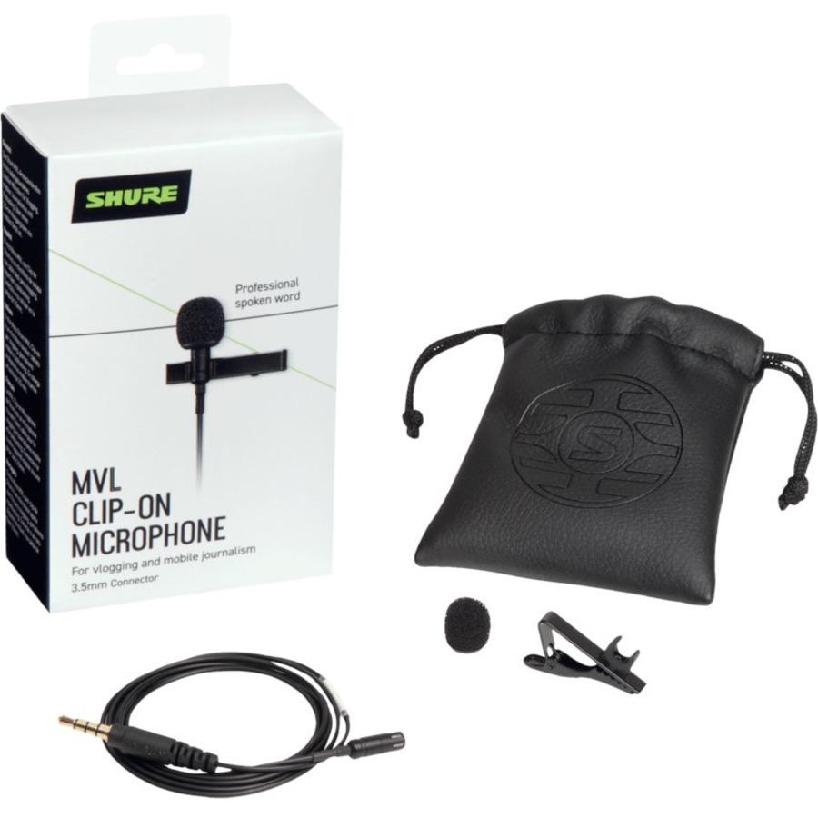 Shure MOTIV MVL-3.5MM Wired Condenser Microphone_subImage_7