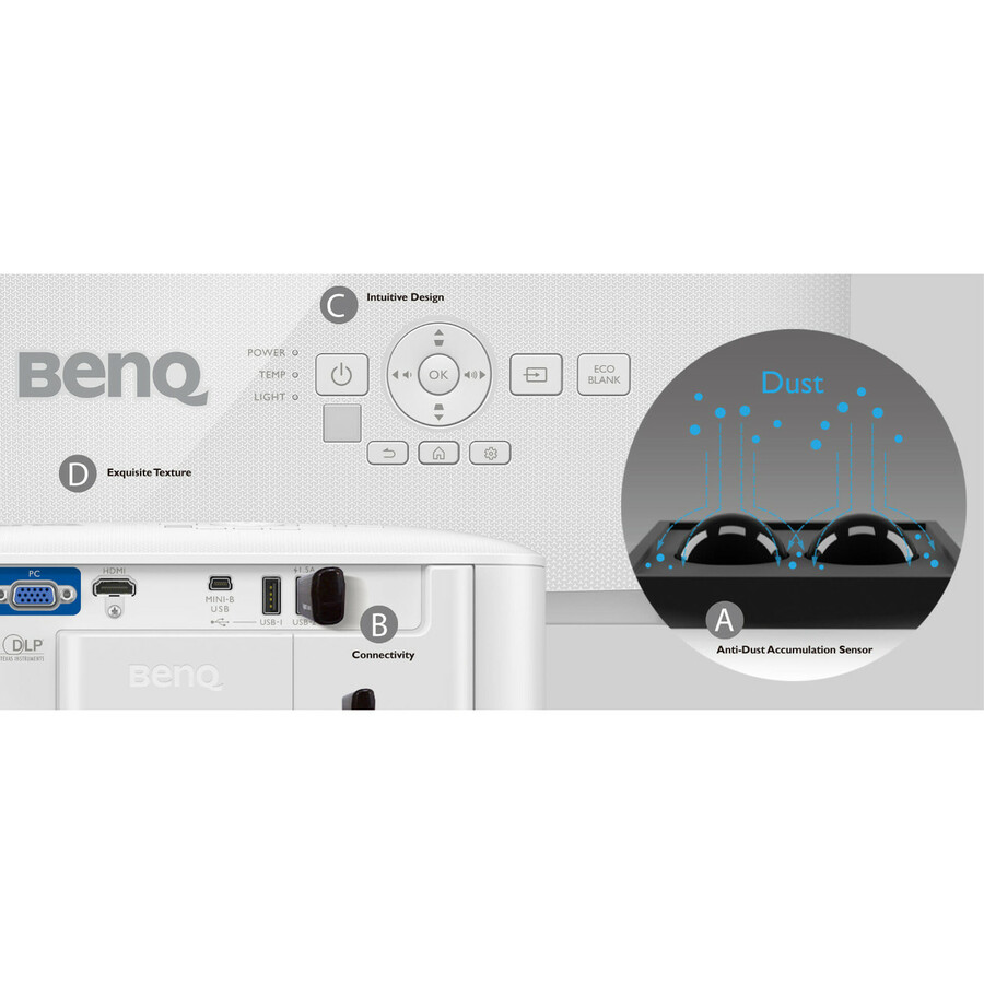 BenQ EH600 3D DLP Projector - 16:9_subImage_15