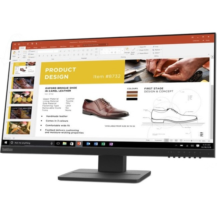 "Lenovo ThinkVision E24-20 23.8"" Full HD WLED LCD Monitor - 16:9 - Raven Black_subImage_12"