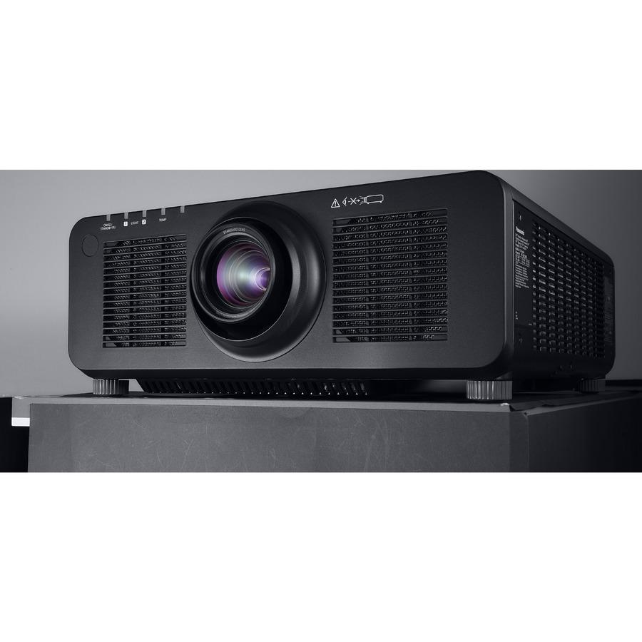 Panasonic SOLID SHINE PT-RZ120 DLP Projector - 16:10 - Black_subImage_12