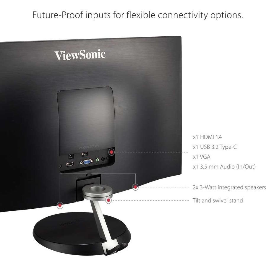 "Viewsonic VX2485-MHU 23.8"" Full HD LED LCD Monitor - 16:9_subImage_15"