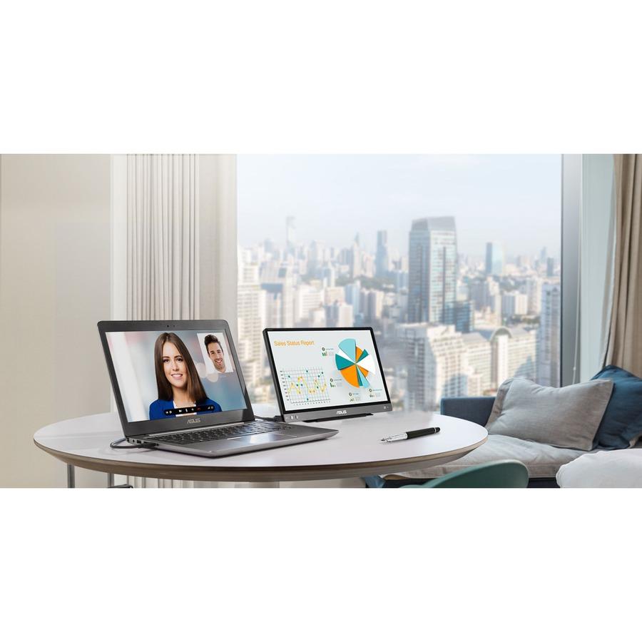 """Asus ZenScreen MB14AC 14"""" Full HD WLED LCD Monitor - 16:9 - Dark Gray_subImage_16"""