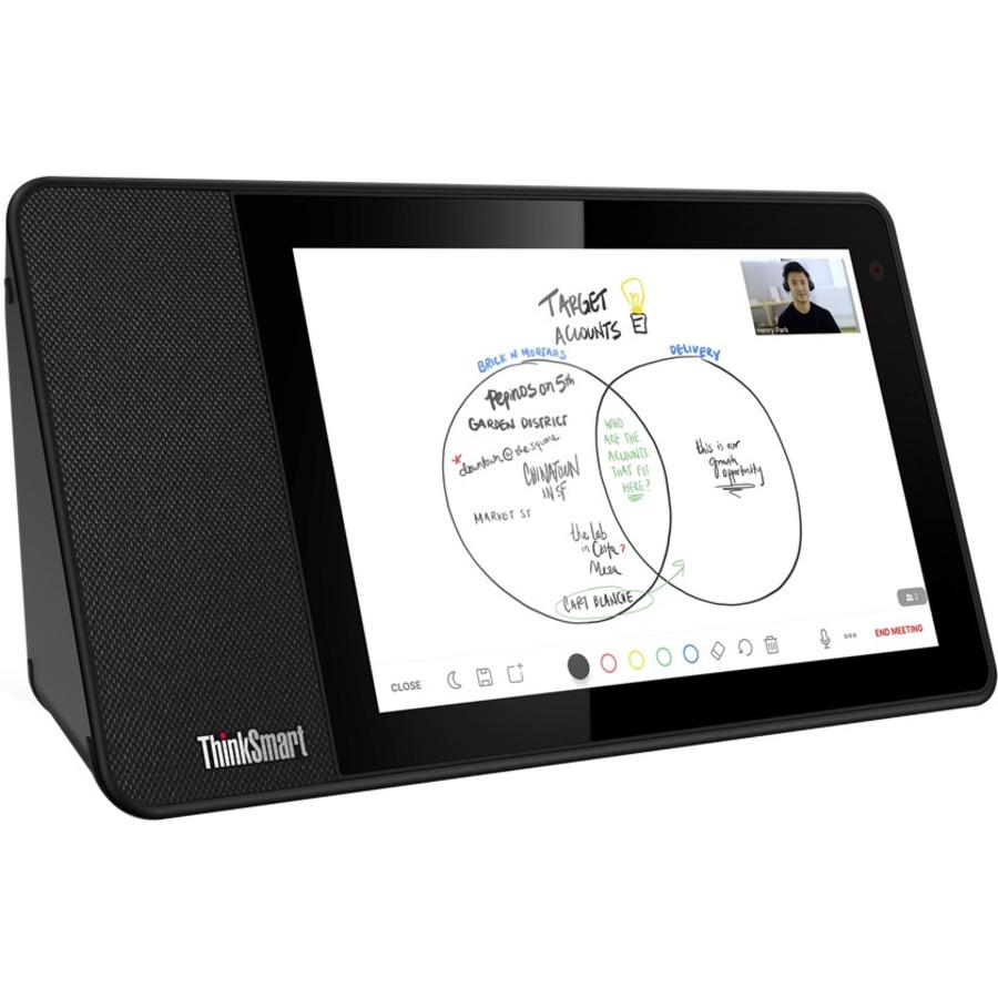 "Lenovo ThinkSmart View ZA840013US Tablet - 8"" HD - 2 GB RAM - 8 GB Storage - Android 8.1 Oreo - Business Black_subImage_14"