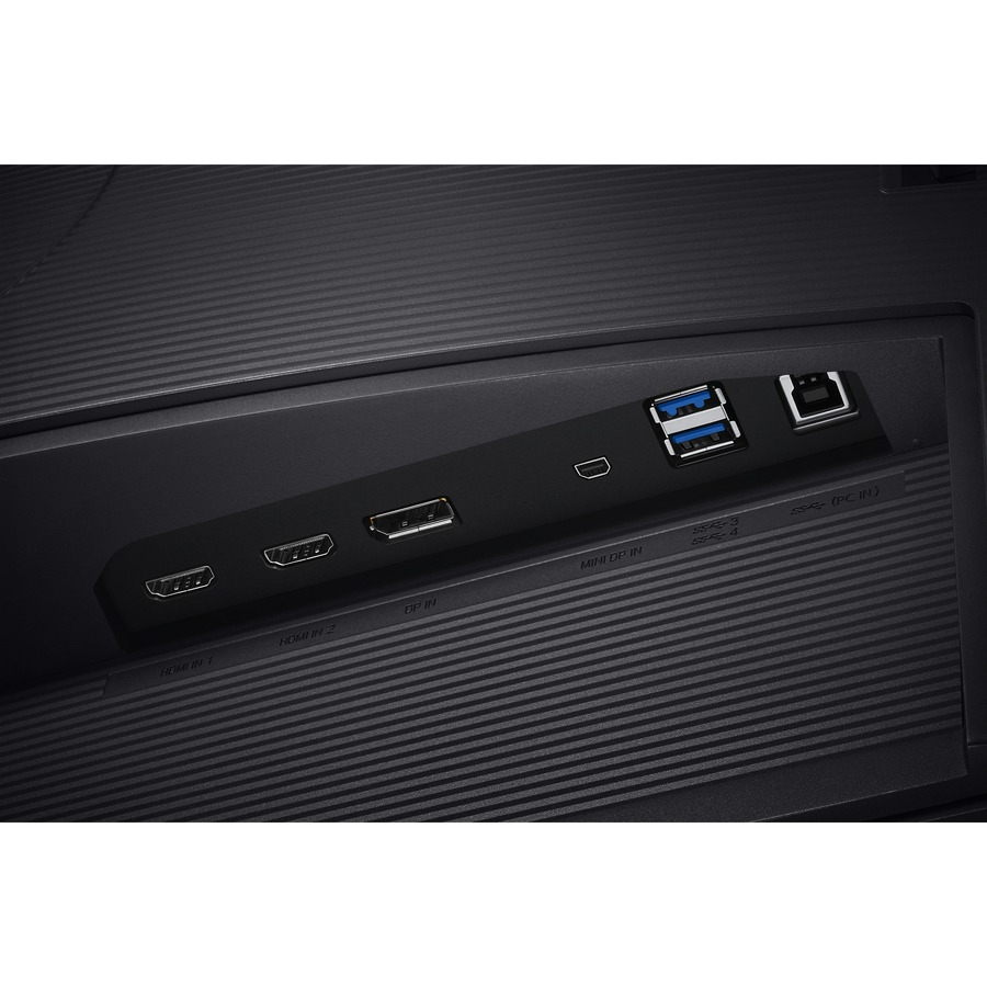 "Samsung U32H850UMN 31.5"" 4K UHD Quantum Dot LED LCD Monitor - 16:9 - Black, Silver_subImage_16"