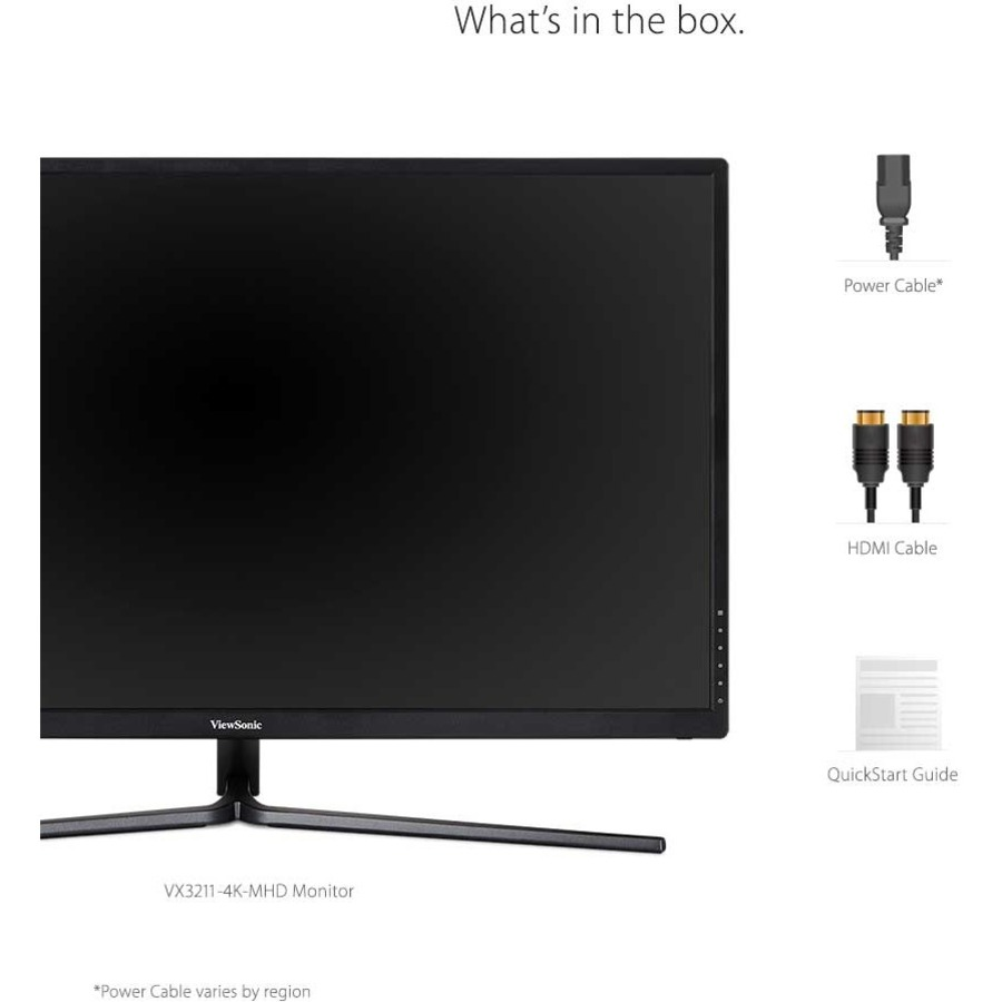 "Viewsonic VX3211-4K-MHD 31.5"" 4K UHD WLED Gaming LCD Monitor - 16:9 - Black_subImage_15"