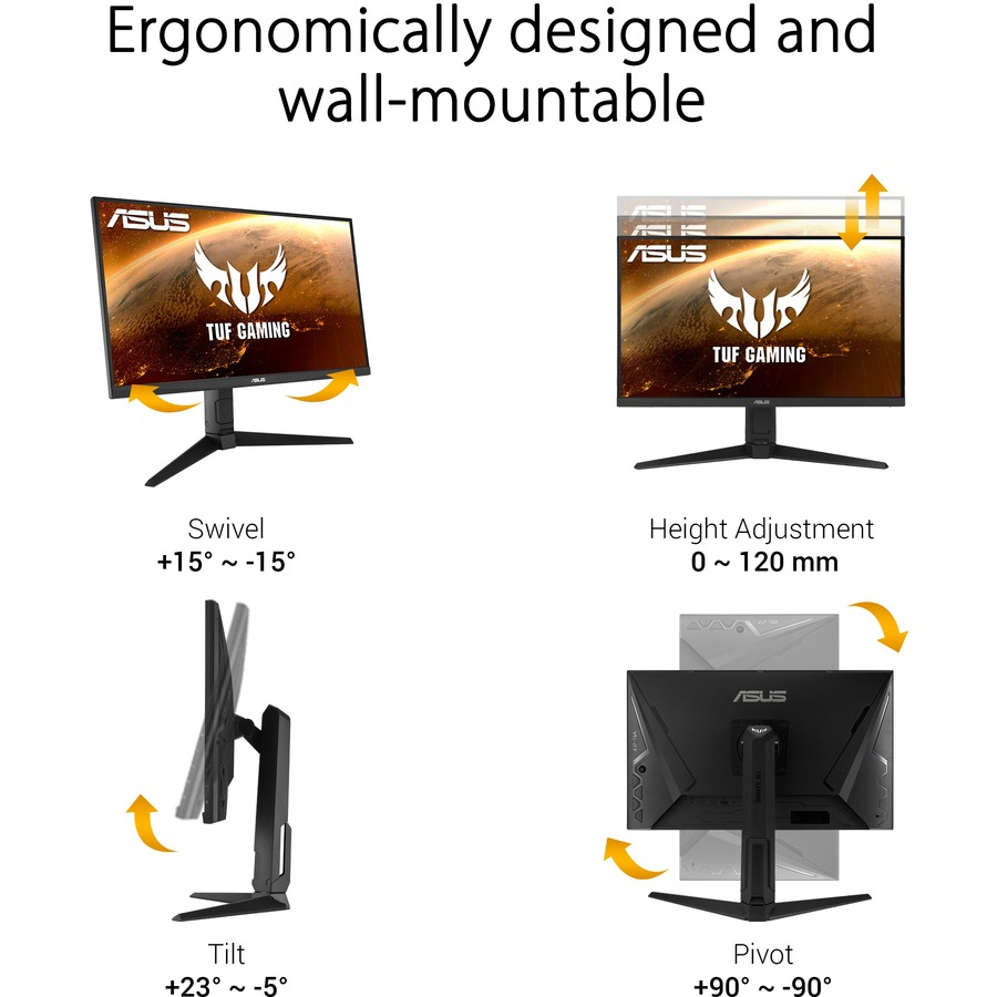 "TUF VG279QL1A 27"" Full HD WLED Gaming LCD Monitor - 16:9 - Black_subImage_15"