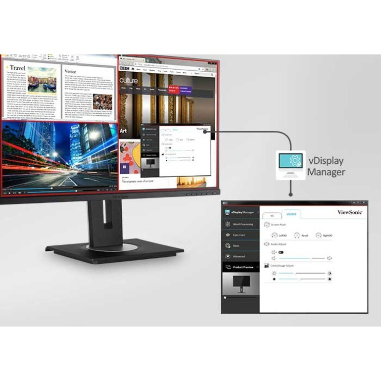 "Viewsonic VG2756-2K 27"" WQHD LED LCD Monitor - 16:9 - Black_subImage_16"