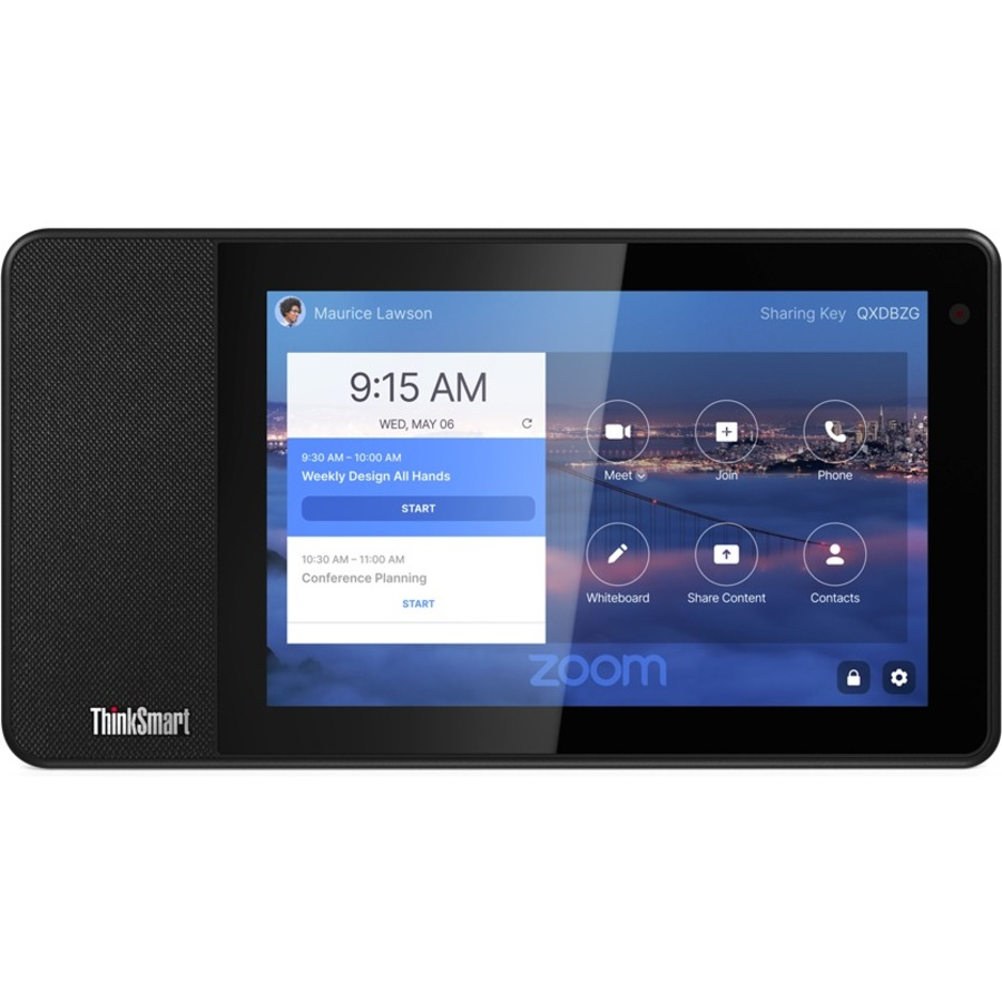"Lenovo ThinkSmart View ZA840013US Tablet - 8"" HD - 2 GB RAM - 8 GB Storage - Android 8.1 Oreo - Business Black_subImage_15"