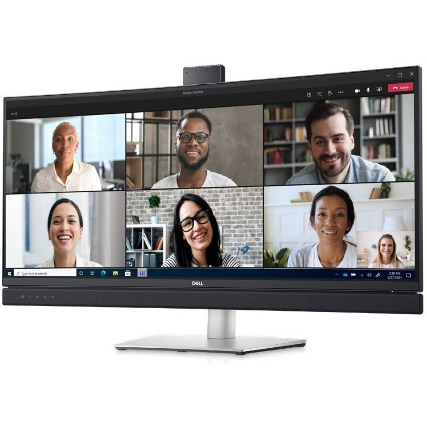"""Dell C3422WE 34.1"""" WQHD Curved Screen Edge WLED LCD Monitor - 21:9 - Platinum Silver_subImage_17"""