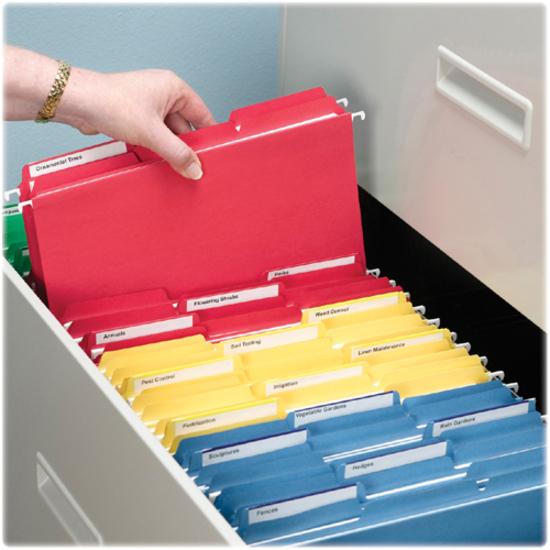 Smead Interior File Folder, 1/3-Cut Tab, Letter Size, Gray, 100 per Box (10251)