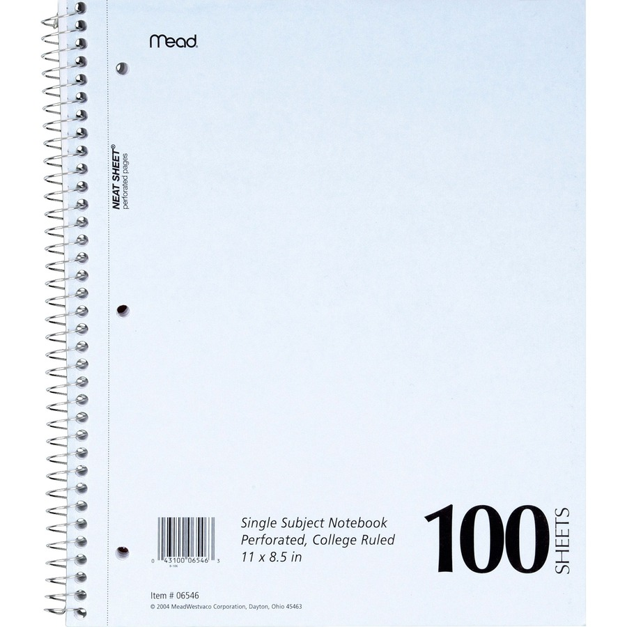 Information Systems sparco 180 sheets 5 subjects college ruled