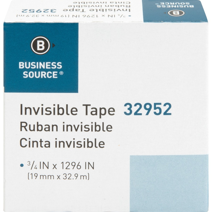 Business Source Invisible Tape