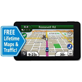 Garmin nvi 3790T 4.3-Inch Bluetooth Portable GPS Navigator with Lifetime Traffic Refurbished at Sears.com