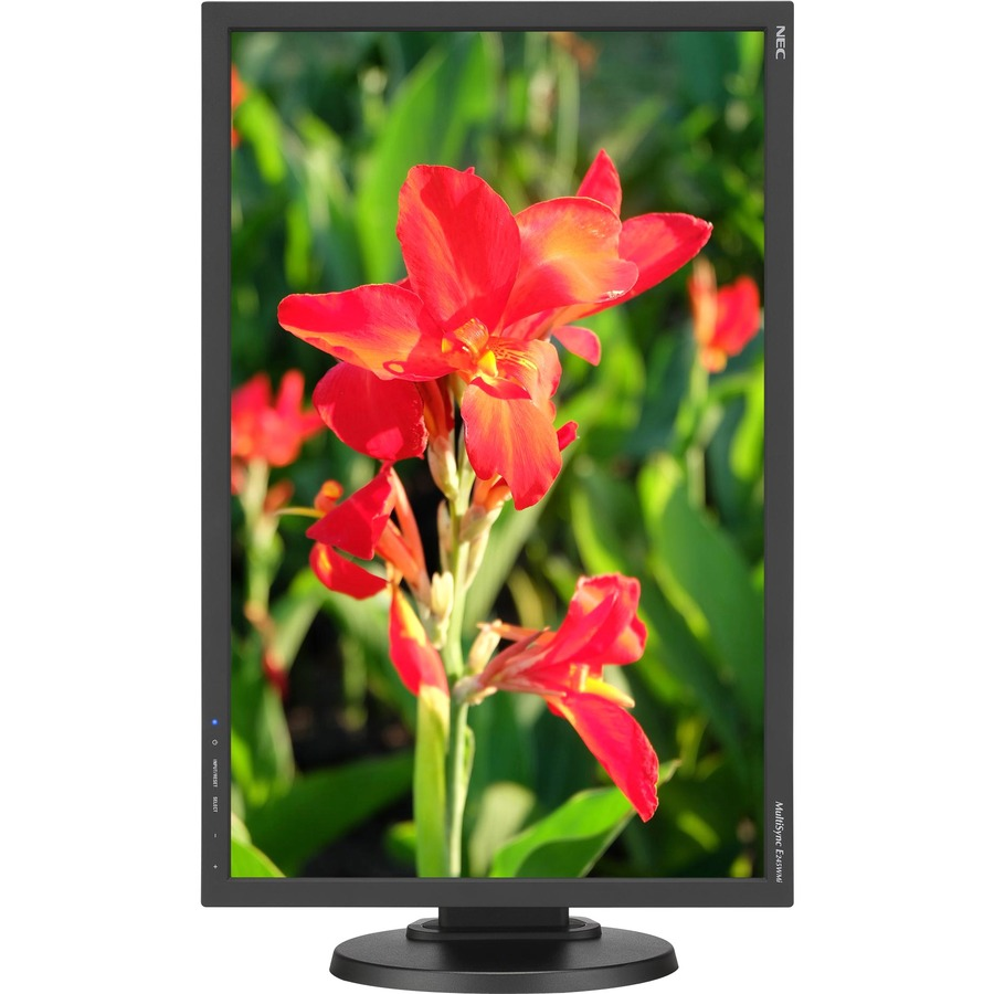 "NEC Display MultiSync E245WMI-BK 24"" WUXGA LED LCD Monitor - 16:10 - Black_subImage_2"