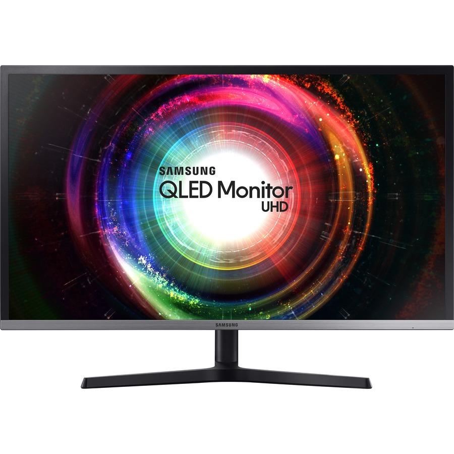 "Samsung U32H850UMN 31.5"" 4K UHD Quantum Dot LED LCD Monitor - 16:9 - Black, Silver_subImage_3"