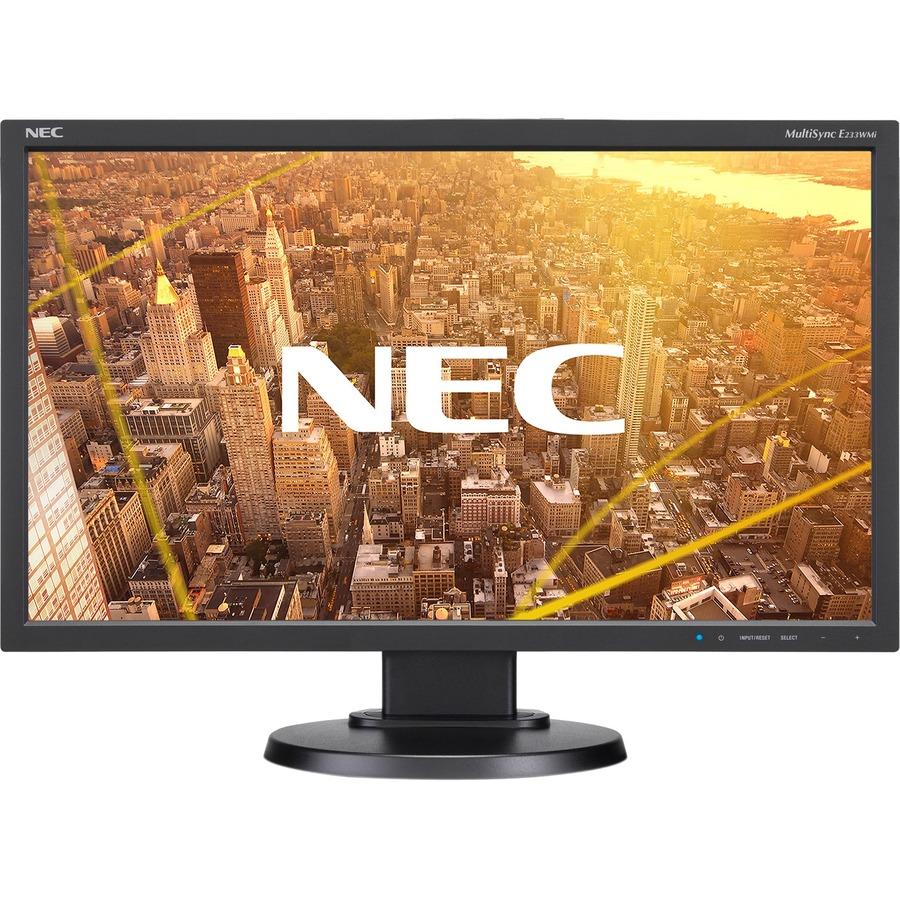 "NEC Display MultiSync E233WMi 23"" Full HD WLED LCD Monitor - 16:9 - Black_subImage_2"