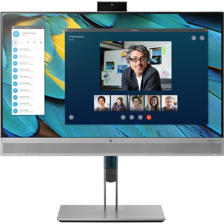 """HP Business E243m 23.8"""" Full HD WLED LCD Monitor - 16:9 - Black, Silver_subImage_2"""