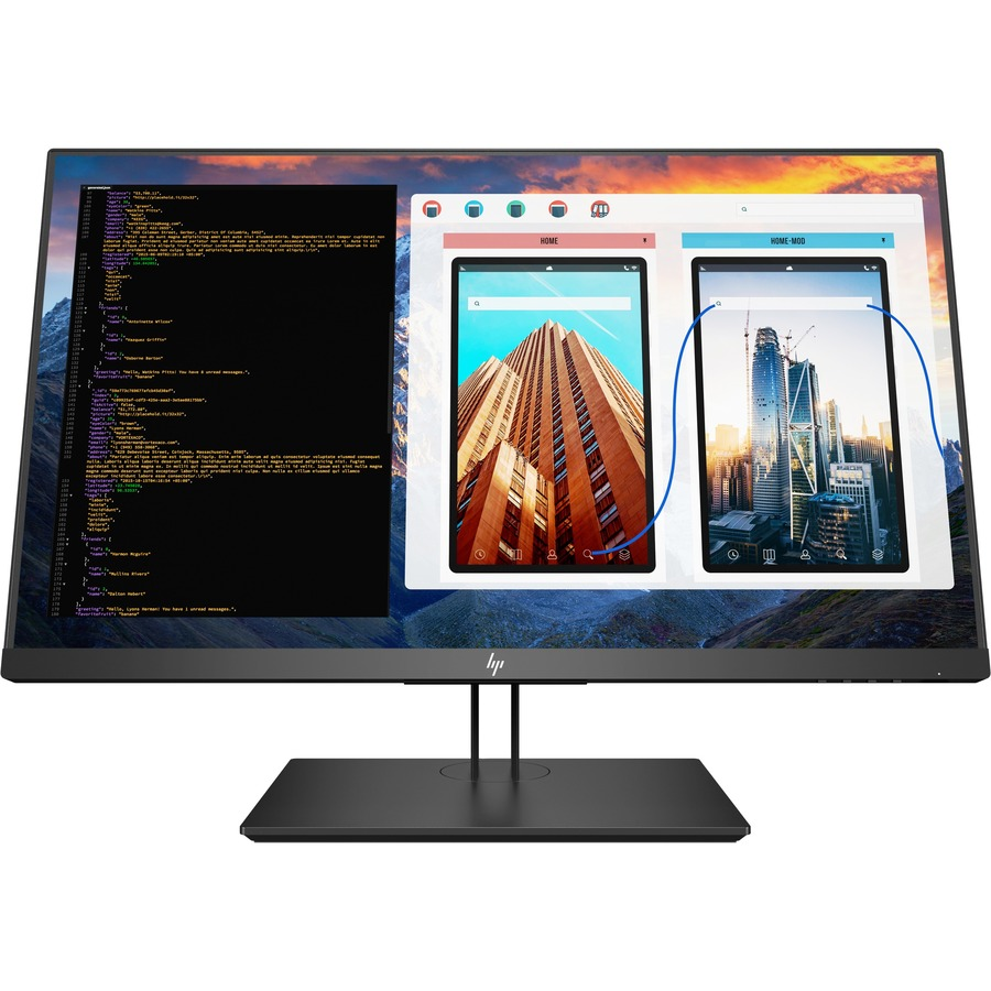 """HP Business Z27 27"""" 4K UHD LED LCD Monitor - 16:9 - Black Pearl_subImage_2"""